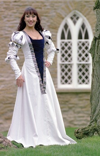 German wedding gown renaissance costumes medieval clothing german wedding gown junglespirit Image collections