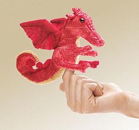 6c3008b26d03 Mini Red Dragon Puppet: Renaissance Costumes, Medieval Clothing ...