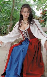 Quantity in Basket none. Code LL-CELTIC Price$190.00  sc 1 st  The Tudor Shoppe & Celtic Dress: Renaissance Costumes Medieval Clothing Madrigal ...