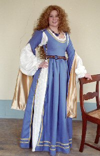 Venetian Dress  sc 1 st  The Tudor Shoppe & Venetian Dress: Renaissance Costumes Medieval Clothing Madrigal ...