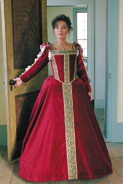 Eleanora of Toledo (Italian Renaissance) Gown
